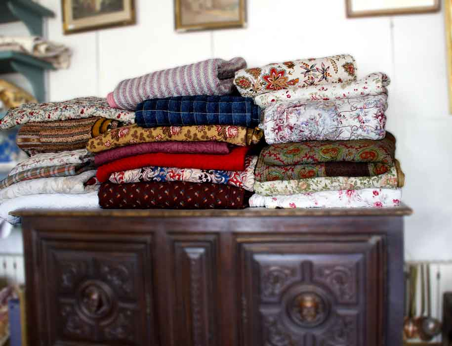 quelques couvertures
