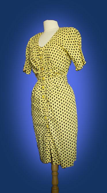 robe portefeuille année 1950